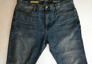 Men's GAP Relaxed Fit Jeans 38 x 30